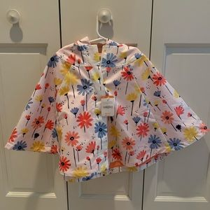 Gymboree poncho with tags 3t